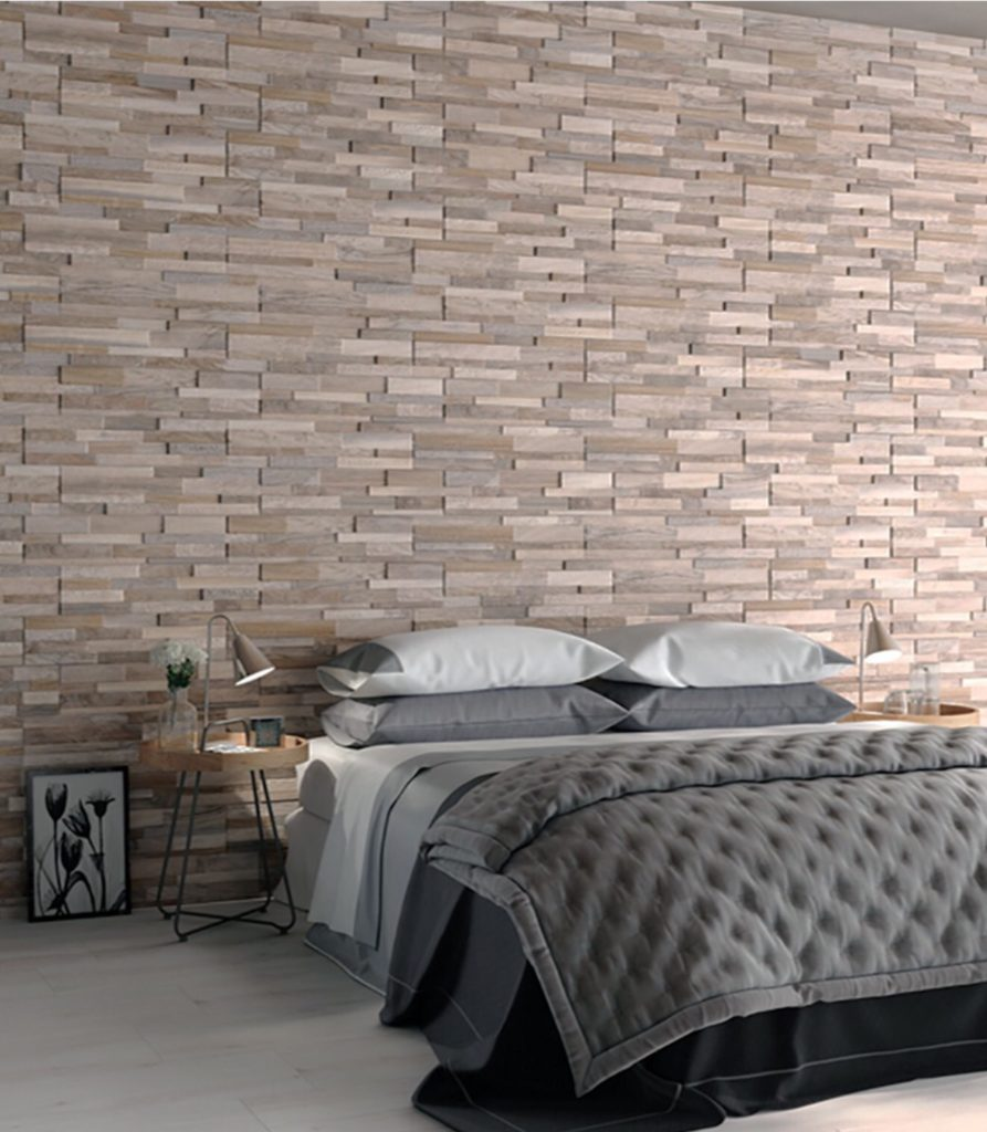 How to use bedroom wall tiles - Crown Tiles