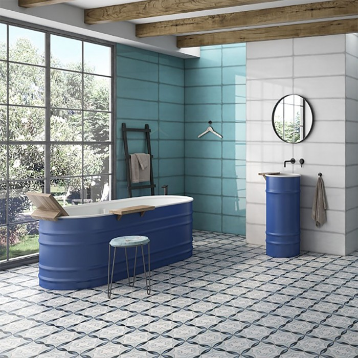 bathroom floor tile ideas to brighten up your home for