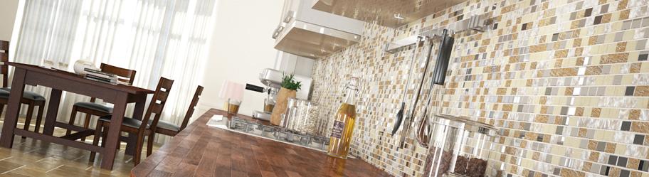 Mixed Mosaic Tiles
