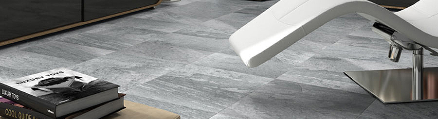 Metallic Floor Tiles