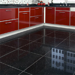 Black Tiles Kitchen Beautiful Floor Tiles For Kitchen Travertine Floors Set In A .