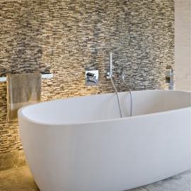 Simple Stone Mosaic Tiles With Bathroom Mosaic Floor Tile