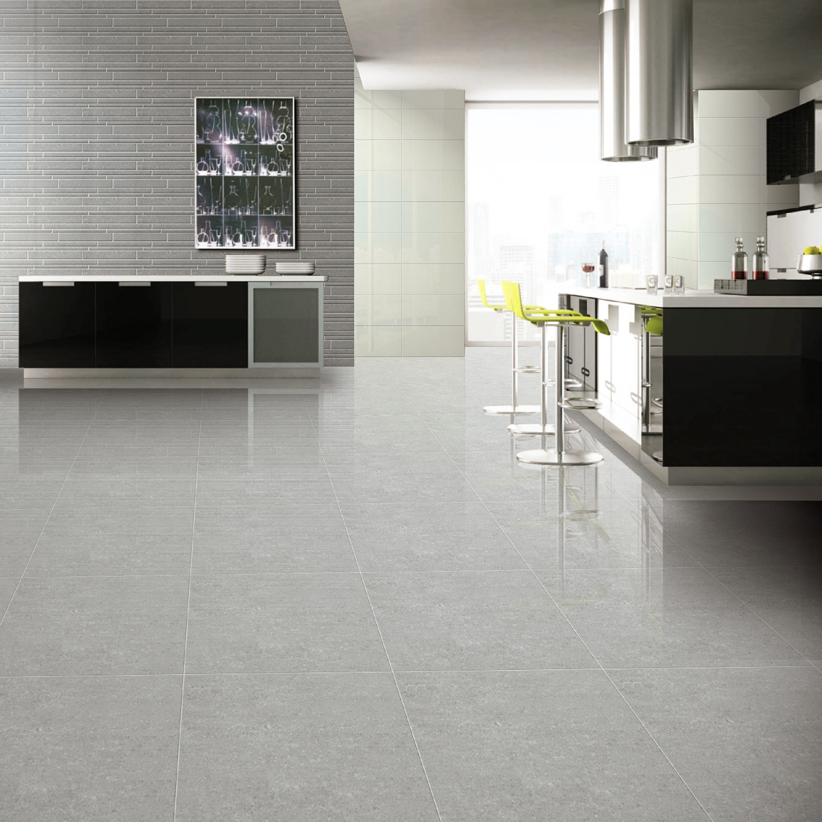 60x60cm super polished light grey porcelain crown tiles dailygadgetfo Gallery