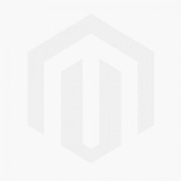 Hexagon Black  -124 x 100mm