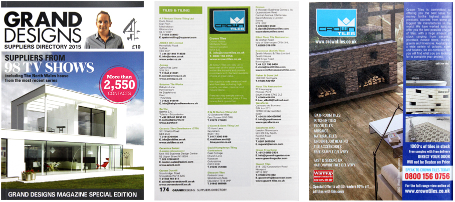 Grand Designs Directory 2015