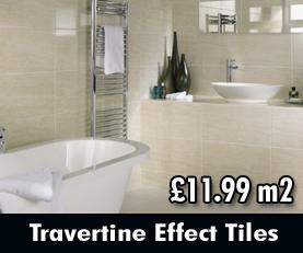 Travertine Effect Tiles