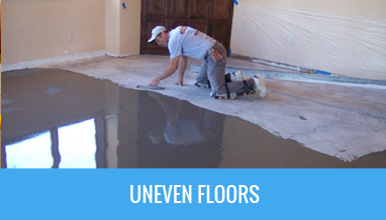 Crown tiles how to tips for How to fix uneven floors